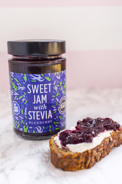 good good sweet jam marmelade ohne zuckerzusatz mit stevia 330g low carb k stlichkeiten shop. Black Bedroom Furniture Sets. Home Design Ideas